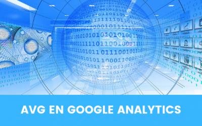 AVG en Google Analytics
