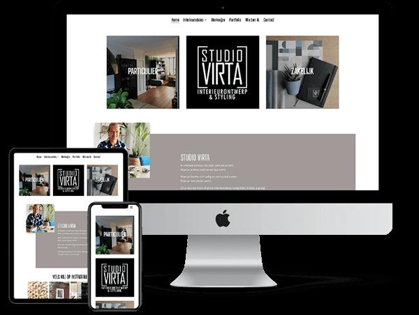 Studio Virta- Website door Bowie Webdesign